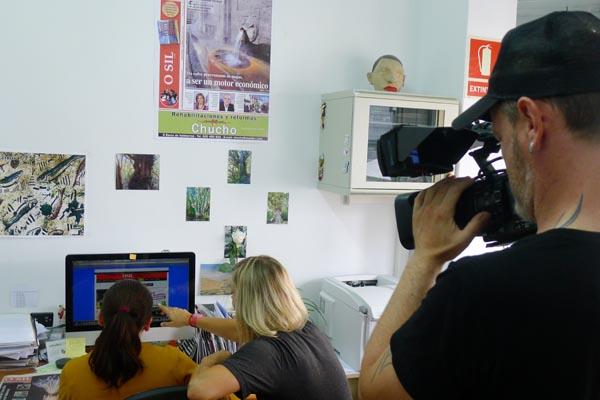"Photo of O Sil, no programa ""Como galegos!"" da TVG"