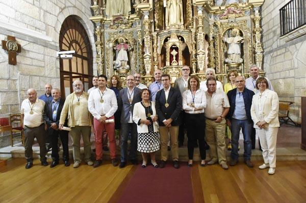 Photo of Catro novos confrades da D.O. Monterrei