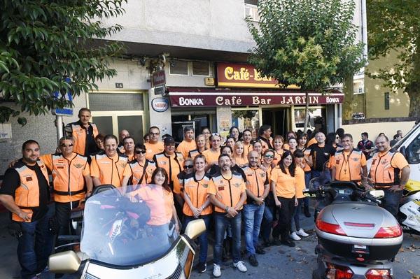 Photo of O motoclub La Virgen del Camino inaugura a delegación ourensá, no Barco