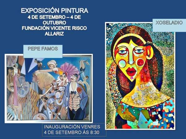Photo of Exposición de pintura na Fundación Vicente Risco