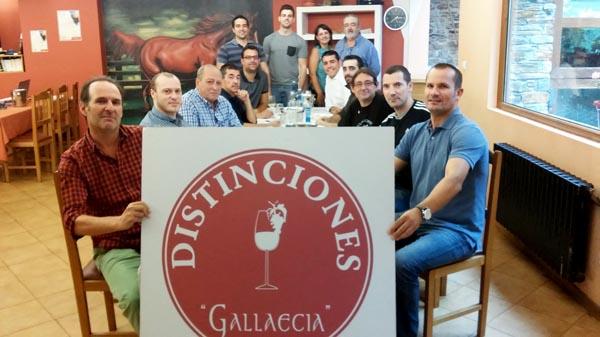 Panel de cata do 17º Certame das Distincións Gallaecia. Foto: Asociación de Sumilleres Gallaecia.