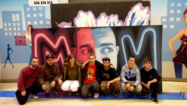 Photo of Dous ourensáns finalistas na especialidade de graffiti do Xuventude Crea 2015