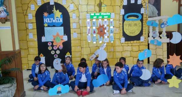 Photo of Exposición no colexio Pablo VI polo Día de Todos os Santos