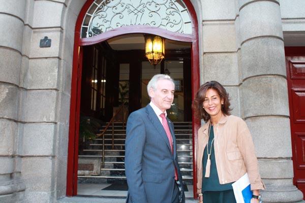 Photo of A delegada da Xunta reúnese co subdelegado do Goberno en Ourense