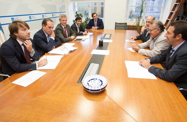 Photo of Reunión da Xunta coa directiva da Fegamp