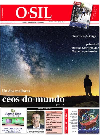 Photo of A edición de outubro de O SIL, nos quioscos