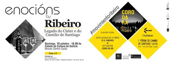 Photo of Os viños do Ribeiro marídanse coa música do Coro da Rá en Compostela
