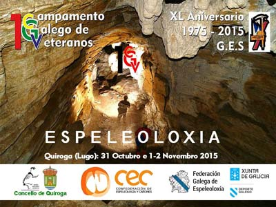 Quiroga, capital da espeleoloxía galega