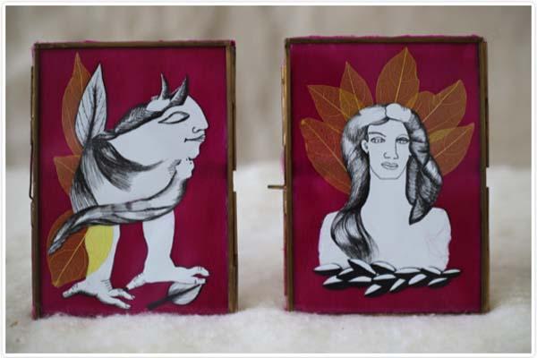 Photo of Os debuxos da valdeorresa Reme Remedios, na Sala Iskoö de Lugo