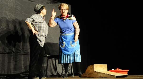 O grupo de teatro A Ruada actuará o 31 de xaneiro. /Foto: Mónica G. Bellver.