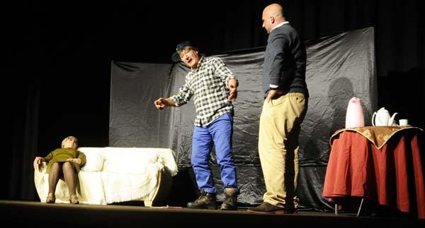 O grupo de teatro Augas do Sil de Ribas de Sil. /Foto: Mónica G. Bellver