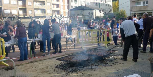Photo of Xogos en torno ao magosto no CEIP Condesa de Fenosa do Barco