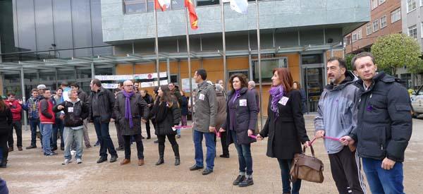 Photo of Concentración contra a violencia de xénero, no Barco