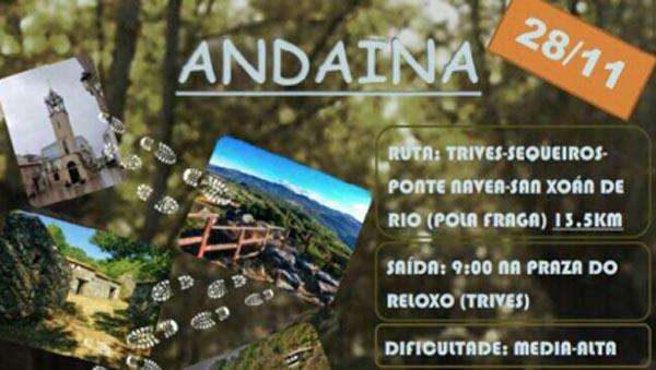 Photo of Andaina de Trives a San Xoán de Río, o 28 de novembro