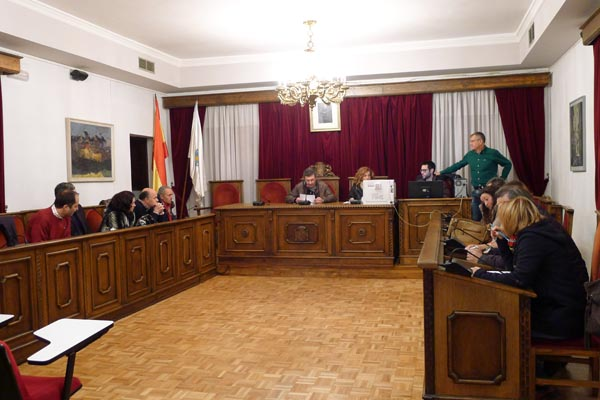 Photo of Sesión plenaria para sortear os membros das mesas electorais no Barco