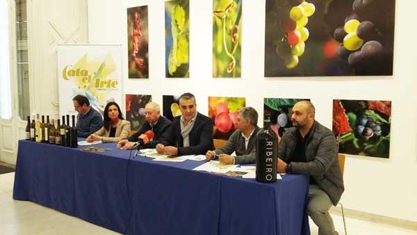 """Photo of """"Cata o Arte"""" coa D.O. Ribeiro en Ourense"""