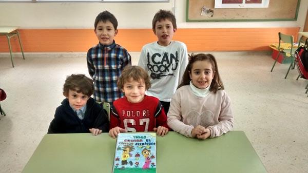 Photo of Os nenos do CEIP Virxe do Carme de Sober, finalistas nun concurso de contos nacional