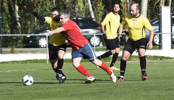 Photo of 2-5 no amigable de veteranos CD Rúa-CD Barco