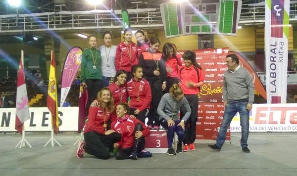 Photo of O equipo feminino do Adas vence na San Silvestre de León