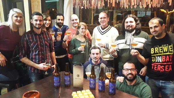 Photo of Cata de cervexas artesás, no Barco