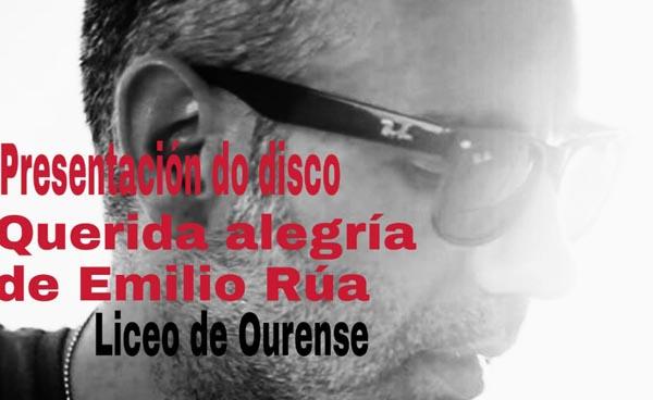Photo of Emilio Rúa presenta o seu novo disco en Ourense
