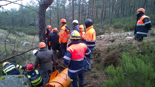 Photo of Curso de rescate en situación invernal en Manzaneda