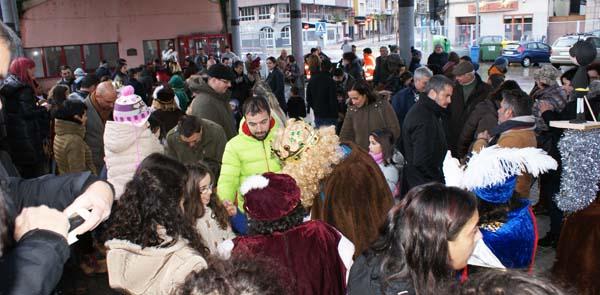 Photo of Visitas e recepción real na tarde de Reis da Rúa