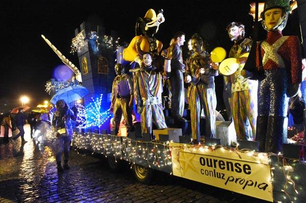 Photo of A Cabalgata de Reis de Ourense, en imaxes