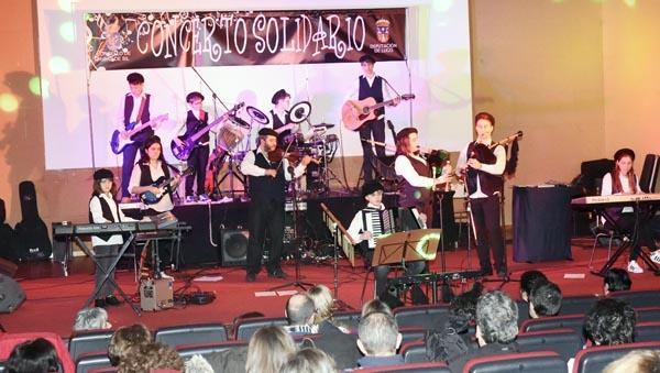 Photo of Concerto solidario da Banda Folk de Ribas de Sil en Viana