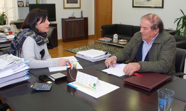Photo of O alcalde do Bolo reúnese coa conselleira do Medio Rural