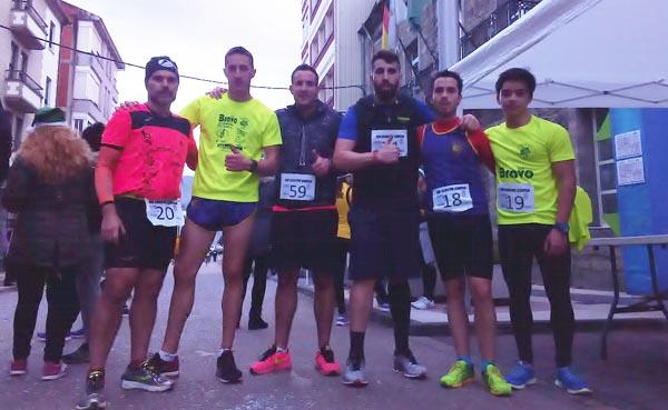 Photo of Os atletas rueses, donos do podium na San Silvestre de Quiroga