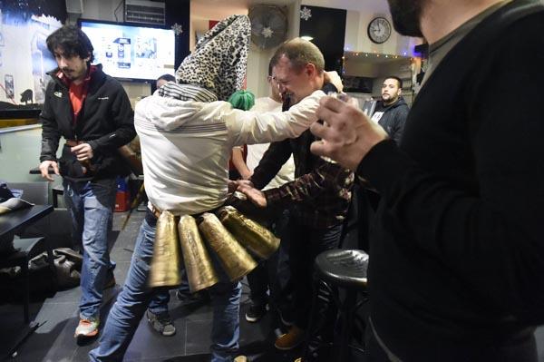 Photo of Os Felos anuncian en Maceda a proximidade do Entroido