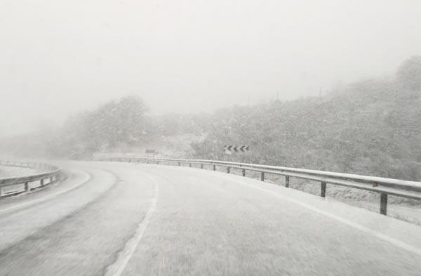 Photo of A neve chega cos Reis