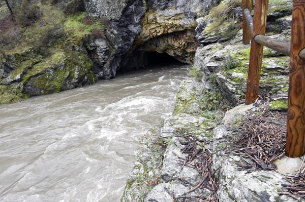Photo of A crecida do Sil oculta o túnel de Montefurado