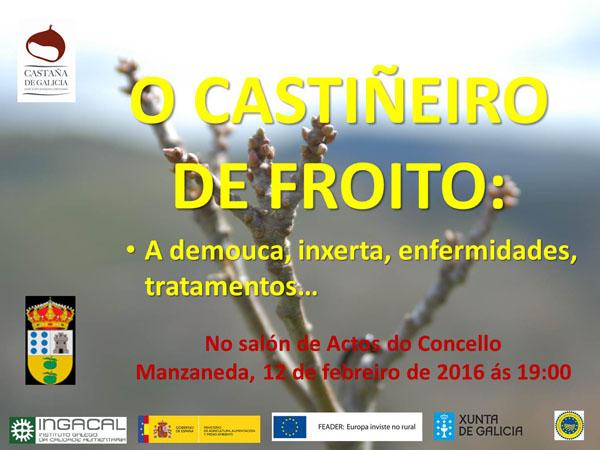 Photo of Xornada sobre o castiñeiro de froito, en Manzaneda