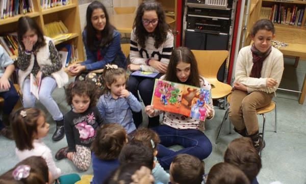 Unha das actividades de dinamización da lectura da biblioteca de Verín./ Foto: Biblioteca de Verín.