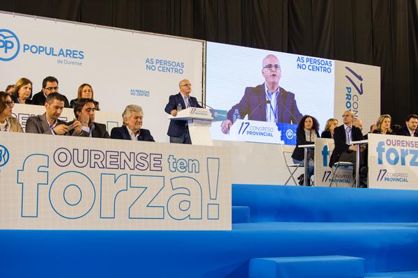 Photo of Manuel Baltar renova como presidente do PP de Ourense