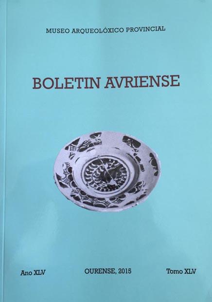 Portada do número 45 do Boletín Auriense.