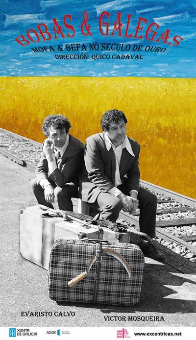 Cartaz desta obra que poderá verse no Teatro Lauro Olmo do Barco.