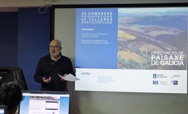 Photo of Obradoiros sobre as directrices da paisaxe galega no oriente ourensán