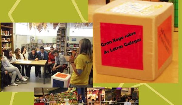 Photo of Xogando coas letras en Quiroga polo Día da Poesía