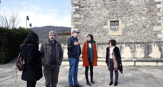 Photo of Ana Pontón, de visita institucional en Viana do Bolo