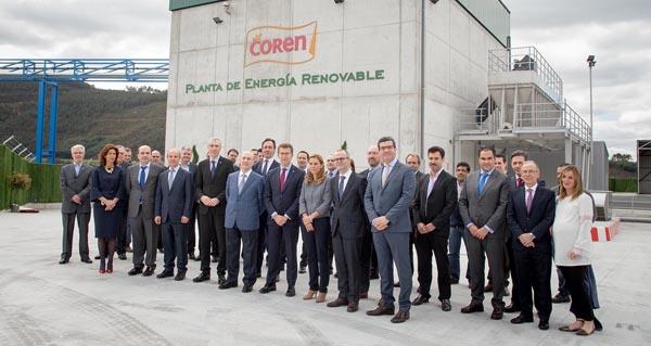 Photo of Visita institucional á planta de enerxía renovable do Grupo Coren