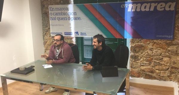 Photo of O deputado de En Marea, de visita en Vilamartín e A Rúa