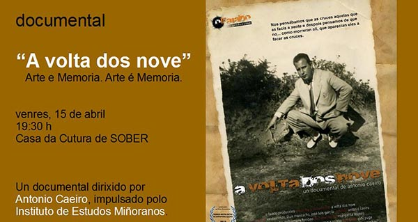 "Photo of O Colado do Vento proxecta o documental ""A Volta dos Nove"" en Sober"