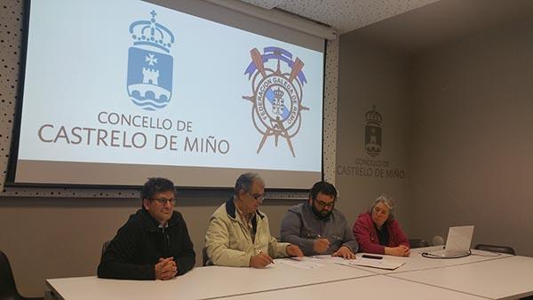 Photo of Castrelo de Miño impulsa o parque náutico da man da Federación Galega de Remo
