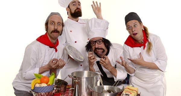 """Photo of A compañía Yllana recala no Barco coa xira de """"Chefs"""""""