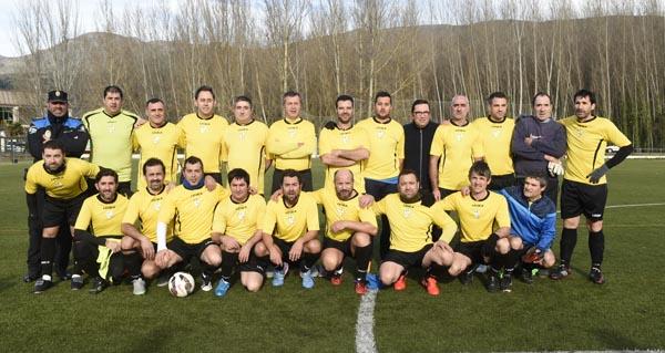 Photo of Partido de veteranos Rúa-Celta, en maio no Aguillón