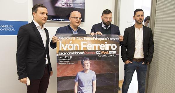 Photo of Iván Ferreiro, artista estrela na segunda edición da Ourense ICC Week