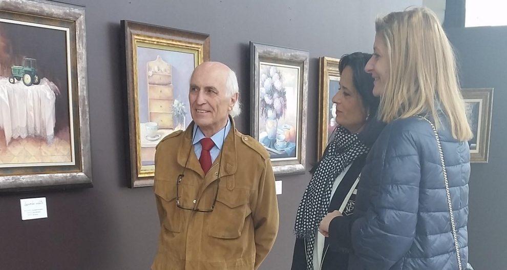 Photo of O Auditorio acolle unha exposición de óleos de Leonardo Vidal até xuño
